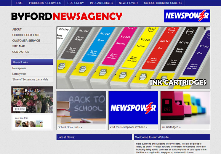 Byford Newsagency Website