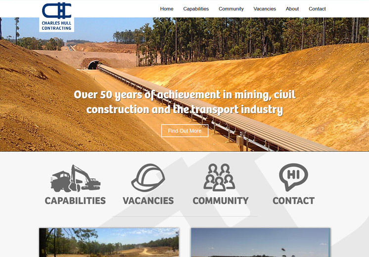 Charles Hull Contracting Website