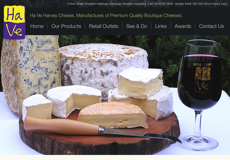 Harvey Cheese Website