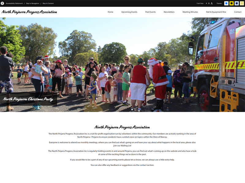 North Pinjarra Progress Association Website