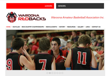 Waroona Redbacks Website