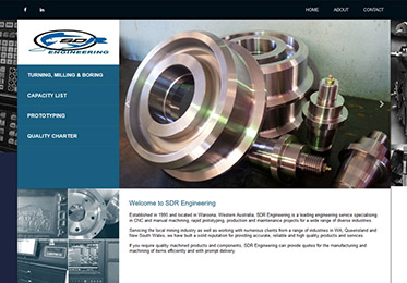 SDR Engineering Website