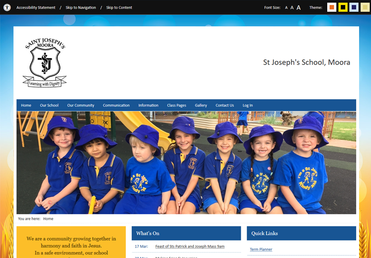 Moora St Joseph's School Website