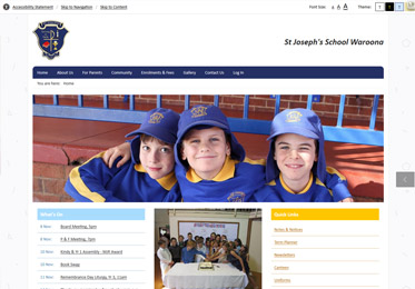St Joes Waroona Website